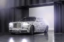 Mule Rolls-Royce Aluminium Space-Frame