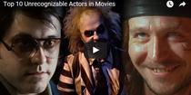 Cele mai spectaculoase deghizari ale actorilor