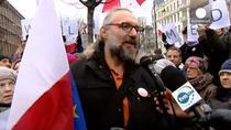 Protest in Polonia pentru apararea mass-mediei publice