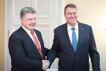 Klaus Iohannis si Petro Poroshenko s-au intalnit si in februarie