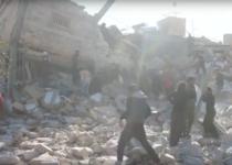 Spital al Medici fara Frontiere, distrus de bombe in Siria