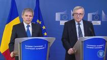 Dacian Ciolos si Jean Claude Juncker