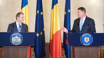 Donald Tusk si Klaus Iohannis