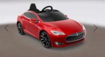 Tesla Model S de jucarie