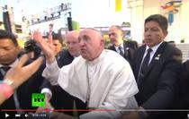 Papa Francisc, nervos