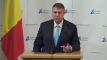 Klaus Iohannis, la dezbaterea organizata de Initiativa Romania