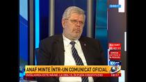Antena 3: ANAF minte intr-un comunicat oficial