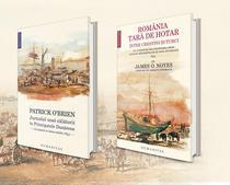 """""""Jurnalul unei calatorii în Principatele Dunarene"""" de Patrick O'Brien i """"Romania, tara de hotar între cretini i turci"""" de James O. Noyes."""