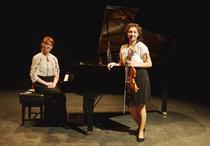 Violonista Adriana Cristea i pianista Greta Gasser