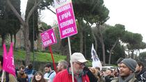 Manifestanti pro-familie in Italia