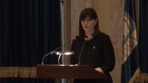 Laura Codruta Kovesi la Sedinta de bilant privind activitatea Directiei Nationale Anticoruptie pe anul 2015