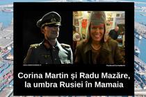 Corina Martin si Radu Mazare,, la umbra Rusiei in Mamaia