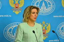 Maria Zaharova, purtatoarea de cuvant a MAE rus