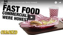 Cum ar arata reclamele publicitare daca ar prezenta numai faptele reale asociate cu produsul advertizat