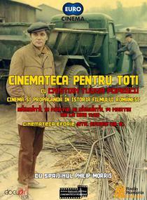Programul Cinemateca pentru toti (afis Robert Racaru)