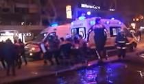 Echipele de salvare la locul exploziei din Ankara