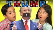 Cum reactioneaza copiii americani la discursul lui Donald Trump
