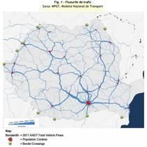 Fluxurile de trafic rutier in Romania