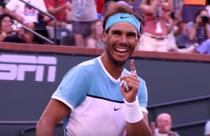 Rafael Nadal, fericit dupa victoria cu Alexander Zverev