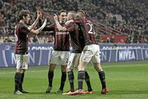 Victorie clara pentru AC Milan