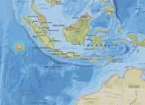 Cutremur la vest de Sumatra
