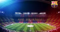 Camp Nou, plin la un meci al Barcelonei