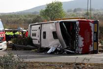 Accident in Spania