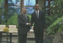 Raul Castro si Barack Obama