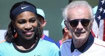 Raymon Moore si Serena Williams