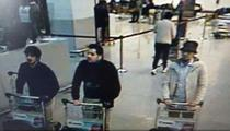 Cei trei suspecti in atentatele din aeroportul din Bruxelles