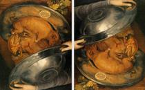 Giuseppe Arcimboldo - The Cook 1570