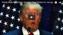 Potretul lui Donald Trump filtrat de retelele neurale Google