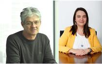 Gheorghe Marinescu, seful Directiei Taxe si Impozite si Mirela Paunescu, consilier MFP
