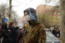 Studentii din Regie au protestat fata de legea antifumat