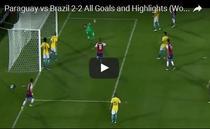 Brazilia, remiza cu Paraguay