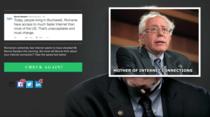 Site care masoara viteza de net cu numele lui Bernie Sanders