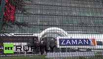 Sediul Zaman, incercuit de politie in luna martie