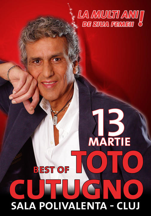 Afis Toto Cutugno - Ziua Femeii