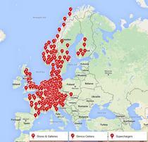 Prezenta Tesla Motors in Europa