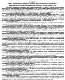 Ilegalitati imputabile lui Liviu Soicescu
