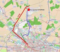 Cale ferata sau linie de metrou pana la Aeroportul Otopeni