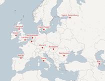 Orasele gazda la EURO 2020