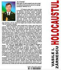 """Coperta """"Holocaustul"""", Vasile I Zarnescu"""