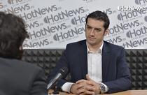 Catalin Homor in studioul HotNews.ro