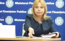 Anca Dragu, ministrul Finantelor