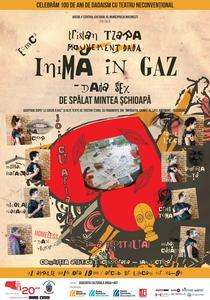Inima in Gaz - Dada Sex de spalat mintea schioapa, regia Dan Victor
