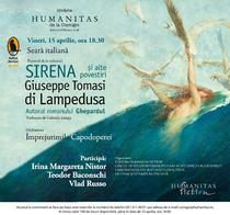 """""""Sirena si alte povestiri"""" de Giuseppe Tomasi di Lampedusa"""