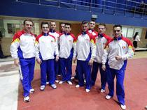 Echipa masculina de gimnastica artistica a Romaniei