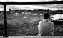 Barbat deprimat