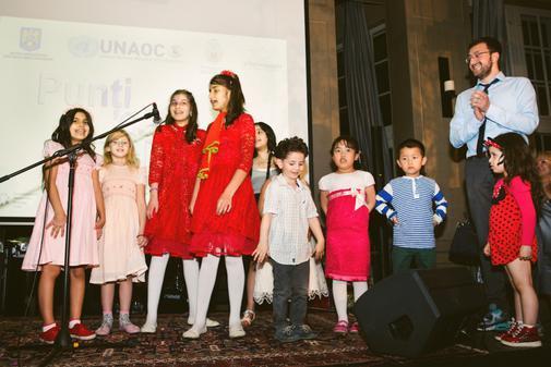 Copii refugiati beneficiari ai proiectului